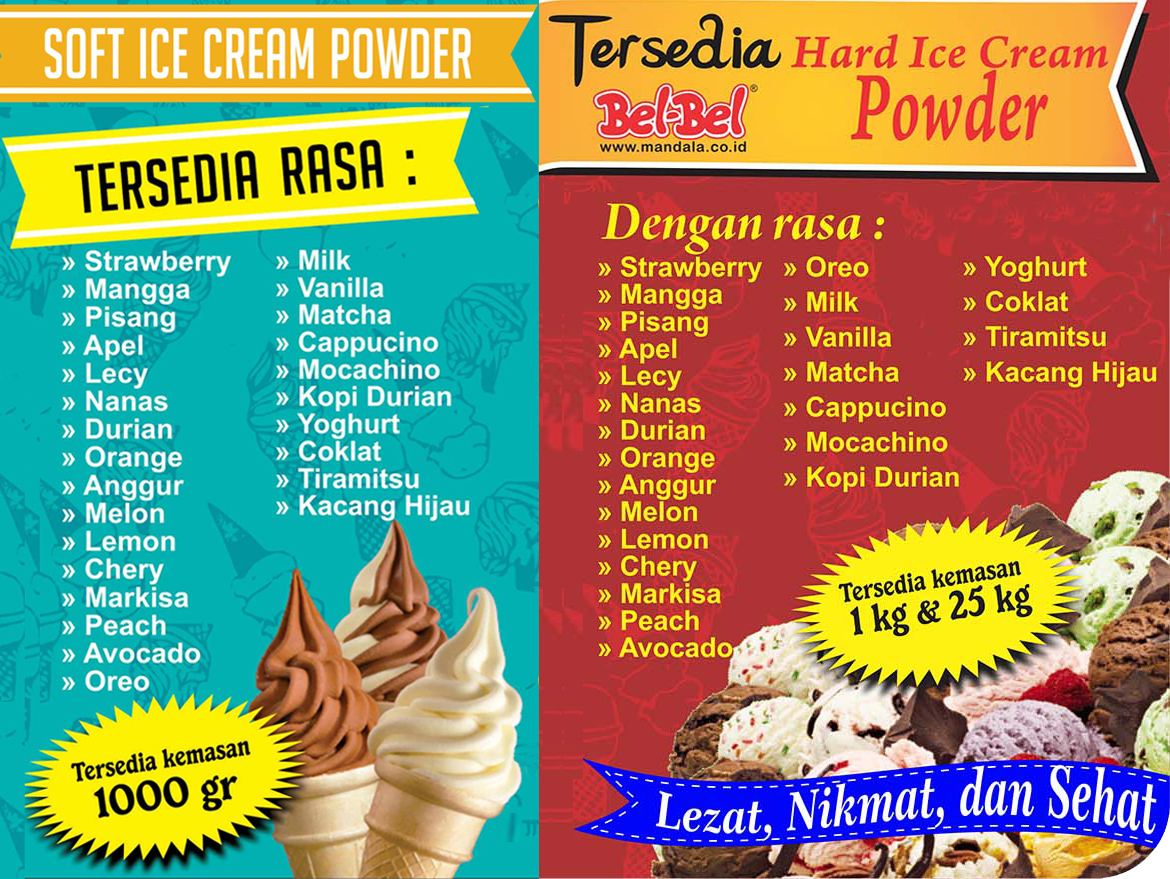 hard and soft ice cream bel bel